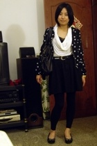 H&M jacket - twopercent blouse - TH belt - skirt - dizen de brand - STACATTO sho