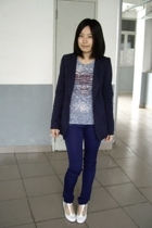 McQueen jacket - 50cent t-shirt - twopercent pants - on & on shoes