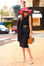 H-m-coat-totti-hat-chanel-bag-zara-skirt-zara-top-aldo-heels