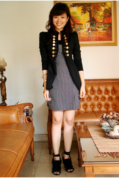 Black Dress Jacket - pretty black dresses