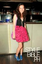 Hong Kong blouse - Jaciendera skirt - Brandy&Zoe shoes - H&M purse