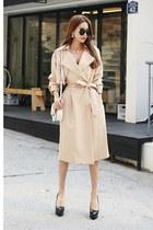 beige dabagirl coat