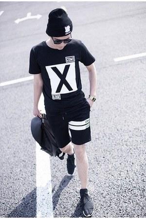 black Soulcity t-shirt - black Soulcity shorts