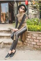 dark khaki UUZONE dress