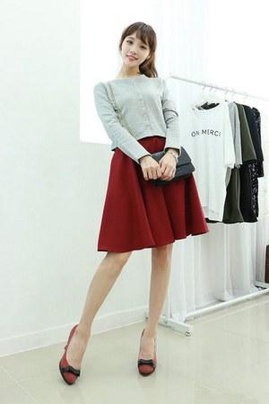 ruby red Dodostyle skirt