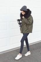 dark khaki OZNARA jacket