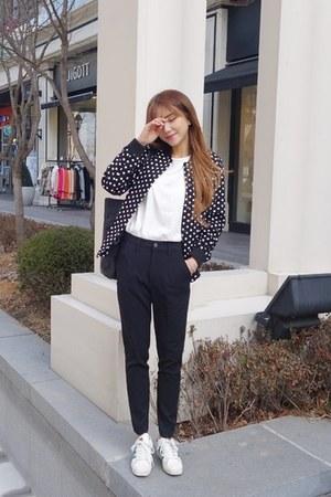 black VANILLA SECOND jacket