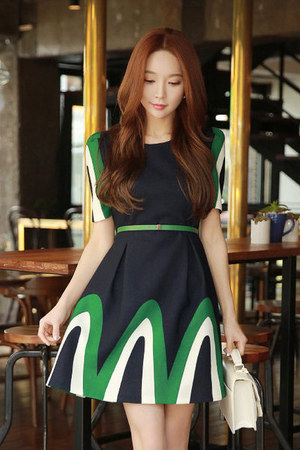 navy Styleonme dress