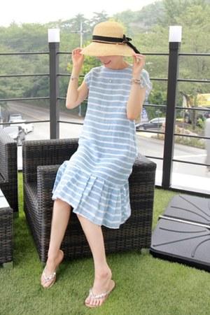 blue LEELIN dress