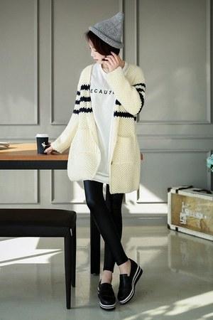 ivory GLAM12 cardigan