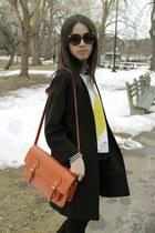 Zara coat - Steve Madden bag - Zara sweatshirt