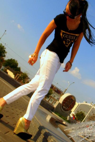 Jeffrey Campbell shoes - Miu Miu jeans