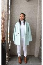 aquamarine Old Navy coat