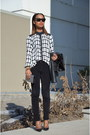 Christian-louboutin-shoes-dkny-jeans-forever-21-blouse