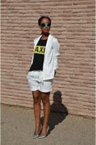 H&M suit - Zara t-shirt