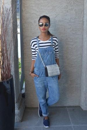 light blue jumpsuit H&M jeans