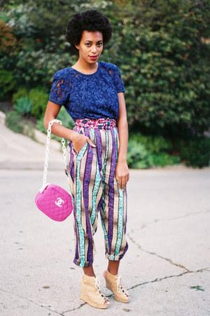 bubble gum Chanel bag