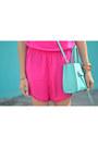 2465de82b828 ... Light-blue-rebecca-minkoff-bag-hot-pink-pom-