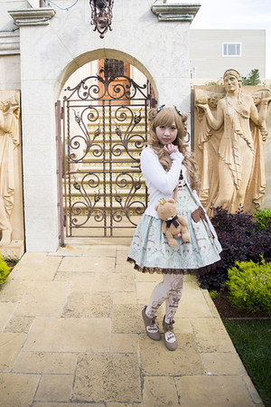 Angelic Pretty dress - Angelic Pretty bag - Angelic Pretty socks