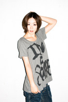 heather gray spinbox t-shirt