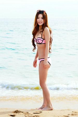 pink Triangl swimwear