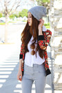 Black-chunky-c-label-shoes-heather-gray-high-waisted-urban-outfitters-jeans