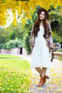 Aquamarine-mint-free-people-dress-light-brown-yesstyle-cardigan