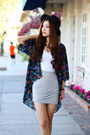 Black-kimono-nordstrom-jacket-heather-gray-bubble-skirt-dolled-up-skirt