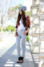 Heather-gray-high-waisted-urban-outfitters-jeans-black-chunky-c-label-shoes