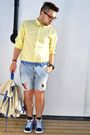 H-m-shirt-diy-shorts-h-m-shoes-bag-new-look-accessories-zara-belt