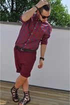 H&M shirt - River Island shorts - Pierre Hardy shoes - Uniqlo belt