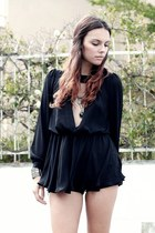 black Zamong blouse