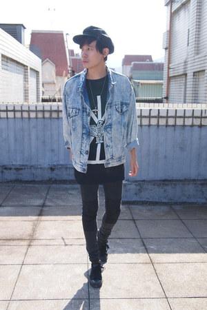 Long Clothing x BoyLondon shirt - Converse shoes - H&M jeans