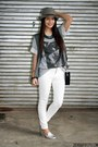 Heather-gray-worn-as-top-wagw-dress-white-mango-jeans-heather-gray-wagw-hat