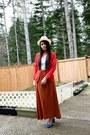 Fedora-h-m-hat-red-cashmere-blend-h-m-cardigan-brown-maxi-h-m-skirt