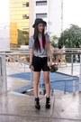 Black-cutout-fashioncookie-shoeavenue-boots-white-leather-wagw-belt