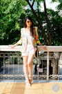 Zoo-blazer-black-h-m-bag-white-boyfriend-mango-shorts-niftypick-glasses