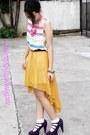 Neon-pink-round-sm-accessories-necklace-celine-necklace-esprit-socks