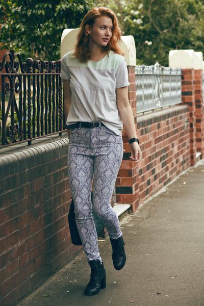 Cheap Monday boots - neuw jeans - COS t-shirt