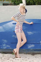 stylestalkercom top - vintage shorts