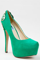 aquamarine Kiss Kouture pumps
