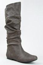 Gray-qupid-boots