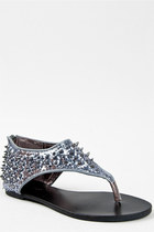 silver Bamboo sandals