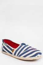 Madden Girl GRIIP Sailor Stripe Flat