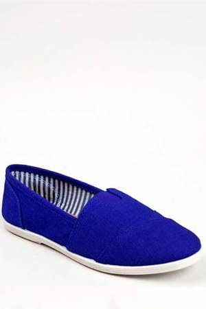 blue casual sporty Soda flats
