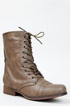 Madden Girl GAMER Mid Calf Combat Boot