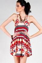 Ruby-red-tribal-sundress-dress