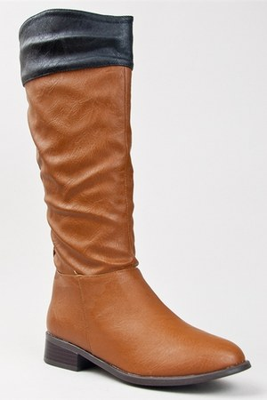 brown Bamboo boots