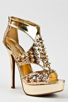 Gold-anne-michelle-sandals