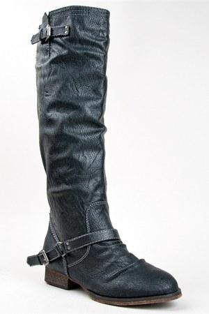 black Breckelles boots